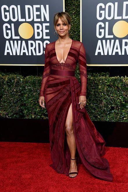 Halle Berry na Złotych Globach 2019