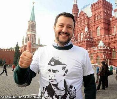 Matteo Salvini nigdy nie krył sympatii dla Władimira Putina