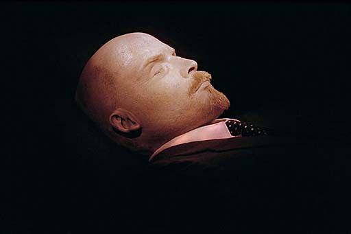 W mauzoleum zostało tylko 10 procent Lenina