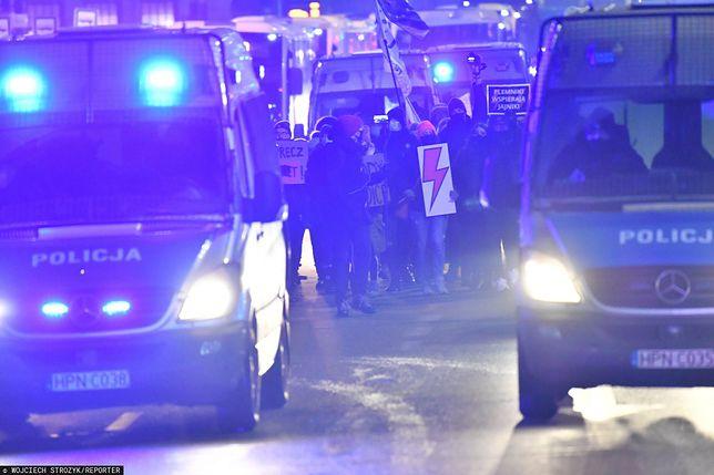 Strajk Kobiet w Gdańsku. Zablokowano ulicę na 103 sekundy