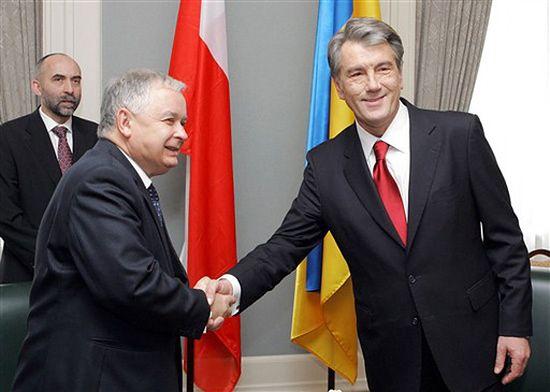 L. Kaczyński i W. Juszczenko nie mogą bez siebie żyć
