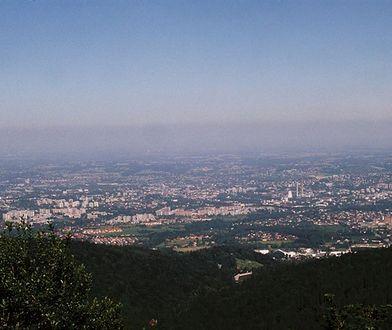 Z Szyndzielni można zobaczyć panoramę Bielska-Białej