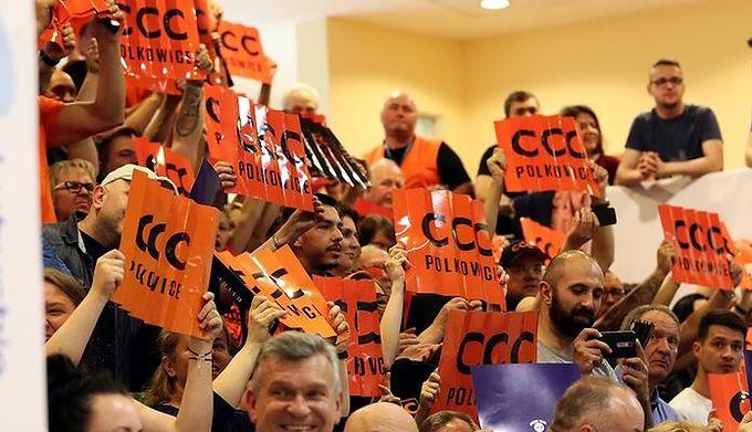 cbe8f8be WP SportoweFakty / Dawid Lis / Na zdjęciu: CCC wspiera koszykarki z Polkowic