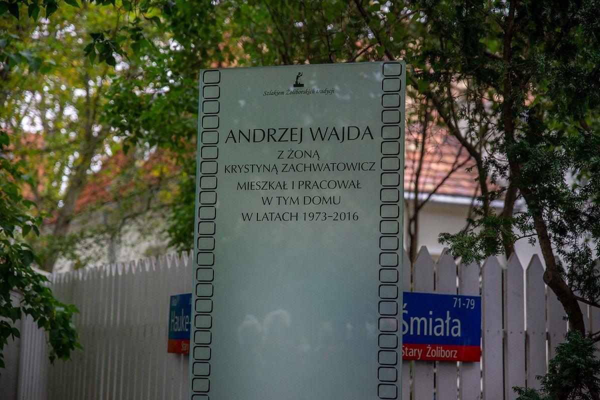 Warszawa. Odsłonięto tablicę upamiętniającą reżysera