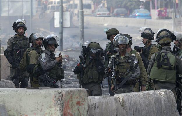 Izraelscy żołnierze w Jerozolimie