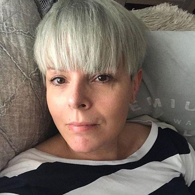 Karolina Korwin-Piotrowska chwali się siwizną