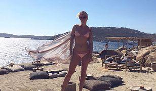 Greckie wakacje Zosi Ślotały. Jak wypoczywa celebrytka?
