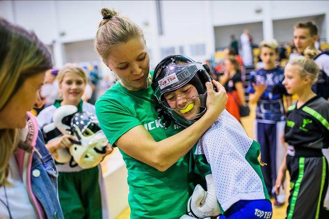 Puchar Polski w Świdniku. Emilia Szabłowska ze swoim podopiecznym po trudnej, ale wygranej walce w półfinale