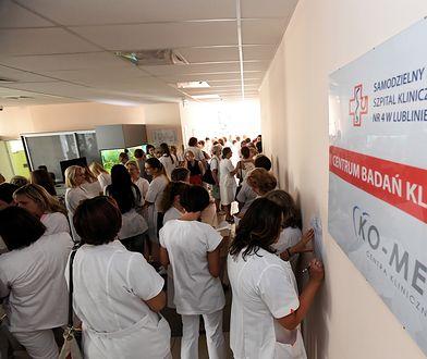 W strajku bierze udział ok. 300 pielęgniarek