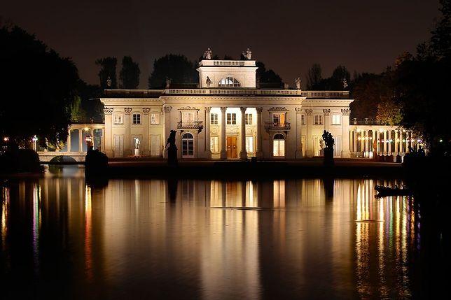 Nowe oświetlenie Pałacu na Wyspie!