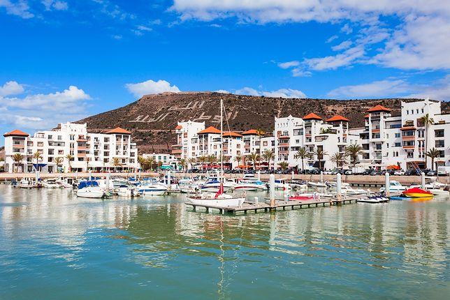 Agadir to jeden z najczęściej odwiedzanych kierunków wakacyjnych w Maroku