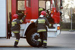O krok od tragedii w Oświęcimiu. Matka z dzieckiem wyskoczyła z płonącego auta