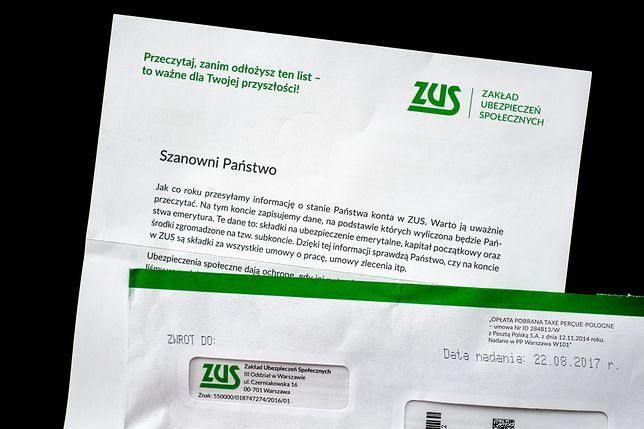 Uśredniając - każdego dnia ZUS wysyła do ubezpieczonych prawie 200 tys. listów