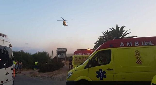 Spadli z klifu. Jeden z turystów zginął na miejscu, drugi zmarł w szpitalu