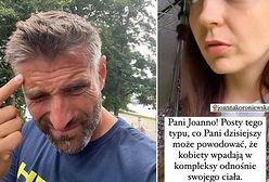 """Zaatakowano jego żonę, Joannę Koroniewską. Maciej Dowbor nie krył wściekłości. """"To zaszło za daleko"""""""