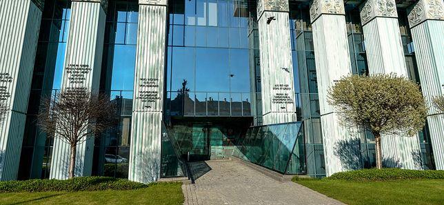 Siedziba Sądu Najwyższego w Warszawie