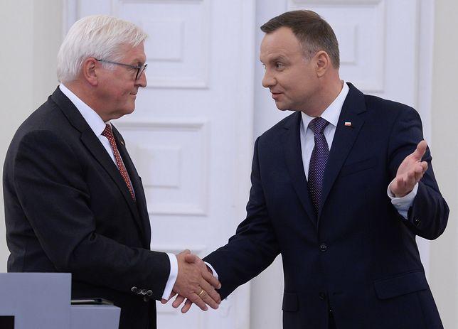 Frank Walter-Steinmeier szybko odpowiedział Andrzejowi Dudzie