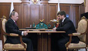 Spotkanie Władimira Putina i Ramzana Kadyrowa; marzec 2016 r.