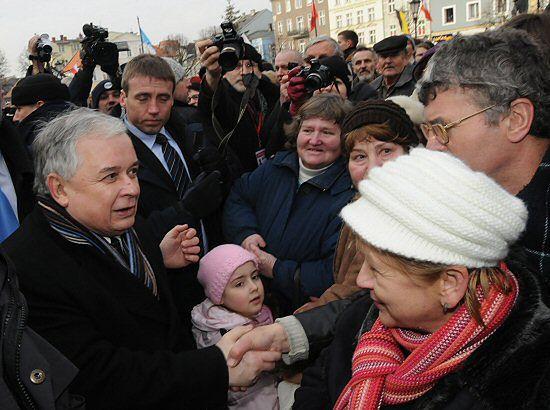 Lech Kaczyński ma pomysł na nowy podział Polski