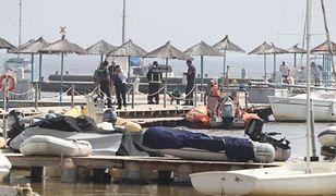 Katastrofa samolotu w Hiszpanii. Maszyna wpadła do morza