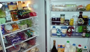 Organizacja miejsca w lodówce