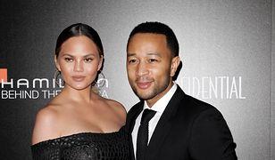 John Legend i Chrissy Teigen nie szczędzili sobie czułości na czerwonym dywanie