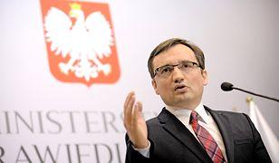Sędziowie buntują się wobec nowelizacji prawa o Sądach Powszechnych. Na zdjęciu: Zbigniew Ziobro