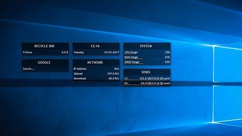 Rainmeter 4.0: pulpit Windowsa teraz z funkcją tworzenia swoich gadżetów