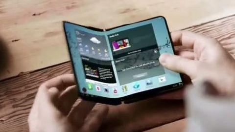 Koniec nudnych smartfonów, Samsung pracuje nad składanym modelem