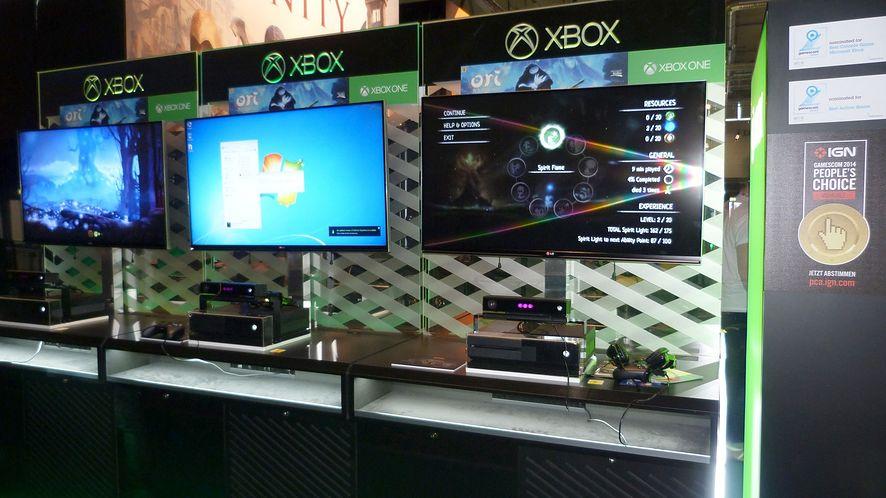 Na targach Gamescom gry prezentowane na Xboksie One uruchomione były na komputerze