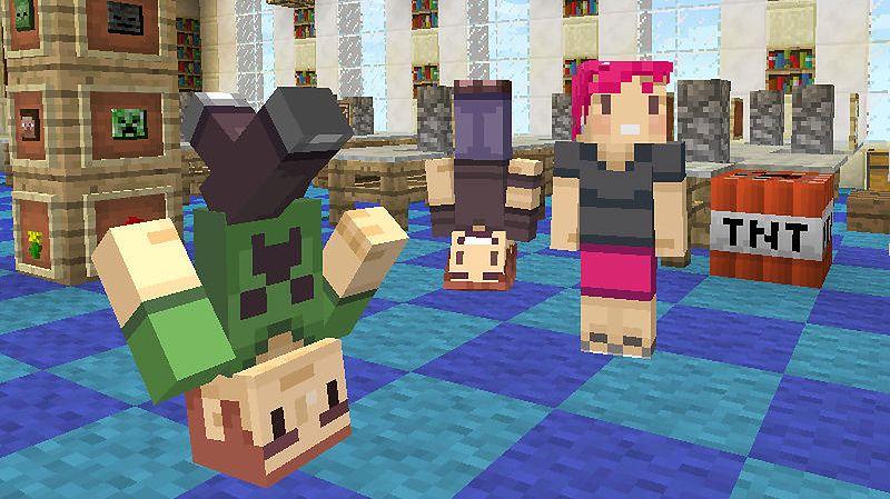 Google przysypia, a tymczasem Minecraft wciąż jest groźnym koniem trojańskim
