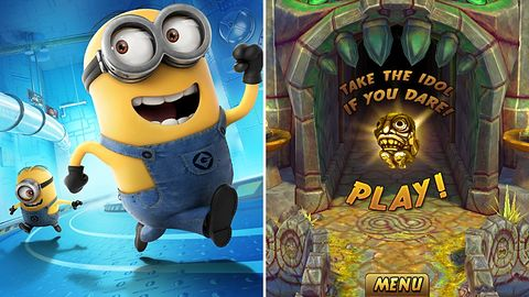 Warto zagrać na Windows Phone: Minion Rush i Temple Run 2