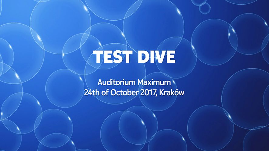 Zapraszamy na Test Dive: konferencję dla testerów oprogramowania w Krakowie
