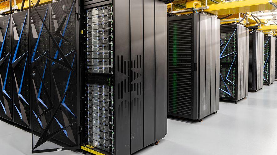 IBM Summit został wykorzystany do badań nad szczepionką na koronawirusa, fot. IBM