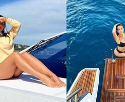 Wakacje Cristiano Ronaldo. Georgina pokazała nowe zdjęcia z jachtu. Ale figura!