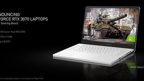 Nvidia RTX 3060, RTX 3070 i RTX 3080 dla laptopów. Jest też tańsza grafika dla PC