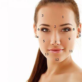 Trądzikowa mapa twarzy. Sprawdź jak twarz komunikuje ci o problemach ze zdrowiem