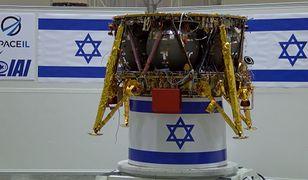 Lądownik Beresheet. Izrael będzie czwartym państwem, które wyląduje na Księżycu