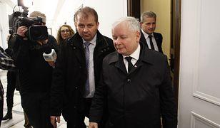 Jacek Cieślikowski od lat towarzyszy Jarosławowi Kaczyńskiemu