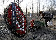 Miejsce katastrofy polskiego samolotu