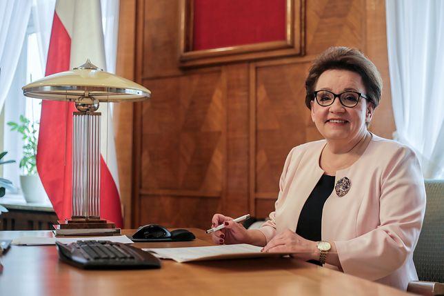 Anna Zalewska została wybuczana na spotkaniu z mieszkańcami swojego okręgu wyborczego