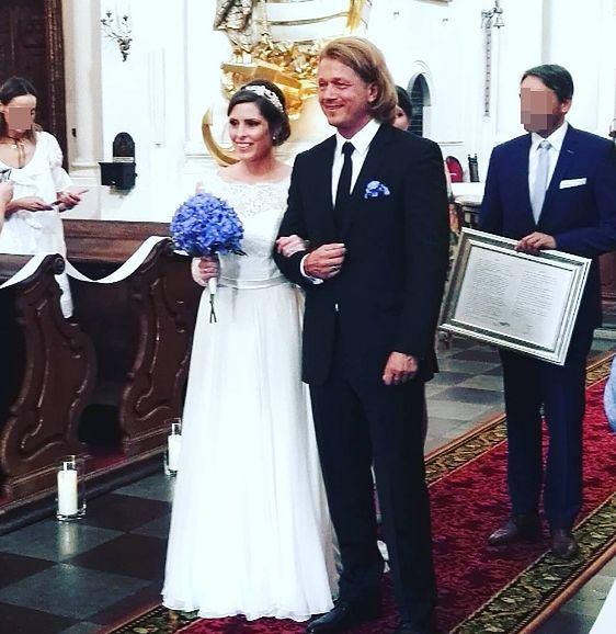 Jarosław Jakimowicz chciał wziąć ślub w tajemnicy. Nie do końca mu się to udało