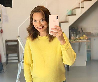 Ania Starmach pokazała ciążowy brzuszek