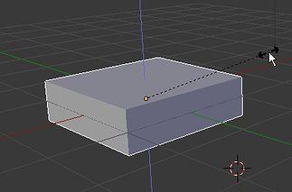 Przeskalowany w Z Cube