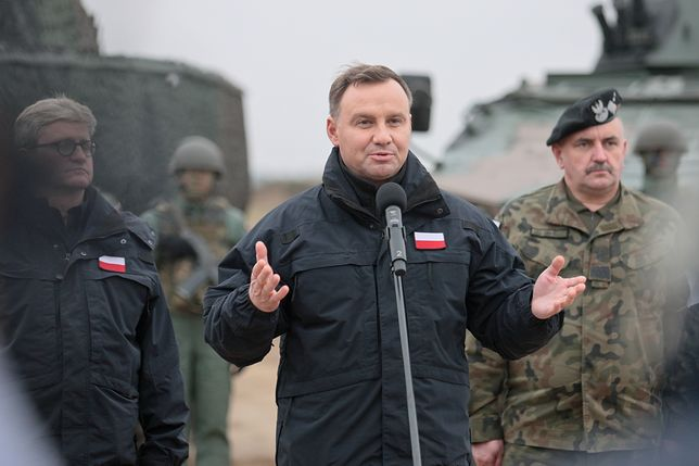 Andrzej Duda: Polacy chcą dobrej zmiany, nie dobrej rewolucji