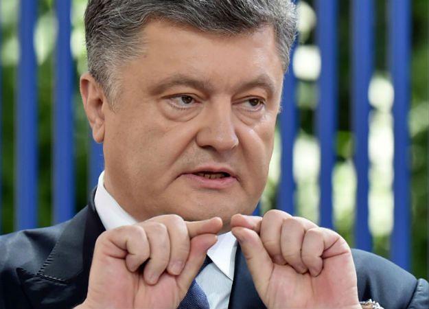 Prezydent Ukrainy Petro Poroszenko padł ofiarą oszustwa?