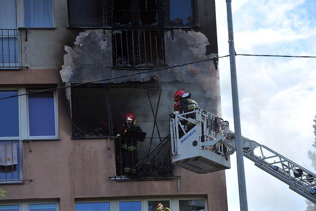 Wybuch gazu w wieżowcu w Szczecinie