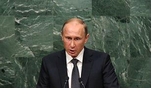 Władimir Putin podczas posiedzenia Zgromadzenia Ogólnego ONZ