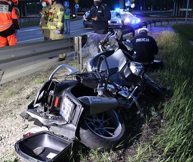 Warszawa. Coraz więcej motocyklistów ginie na drogach. Policja apeluje o rozwagę
