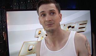 """""""Dance Dance Dance"""". Uczestnicy komentują przerwany występ Krzysztofa Jonkisza"""